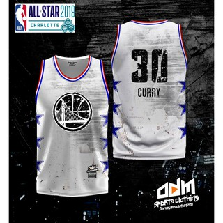 competitive price f63d5 bd5cf NBA All Star #30 CURRY Jersey | Shopee Philippines