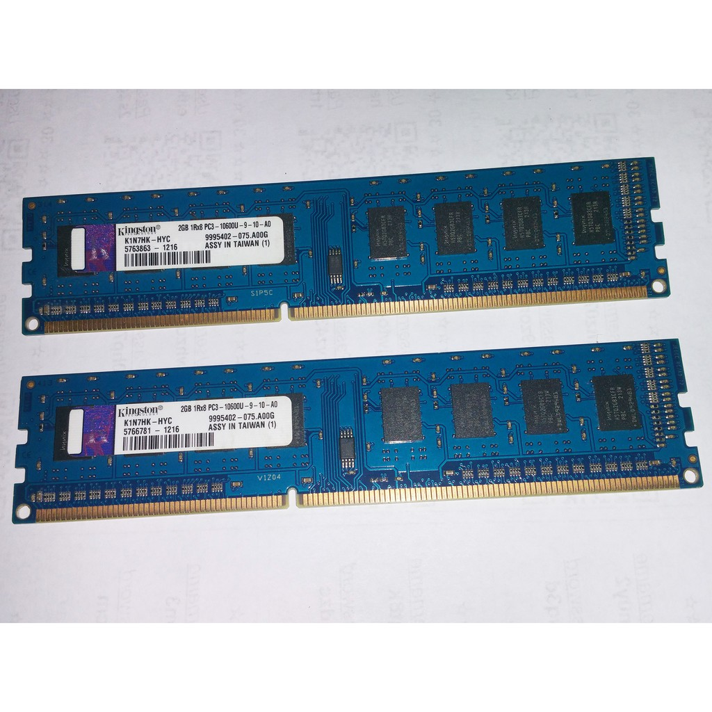 Kingston 2gb Ddr3 1333mhz Ram Memory For Desktop Shopee Philippines
