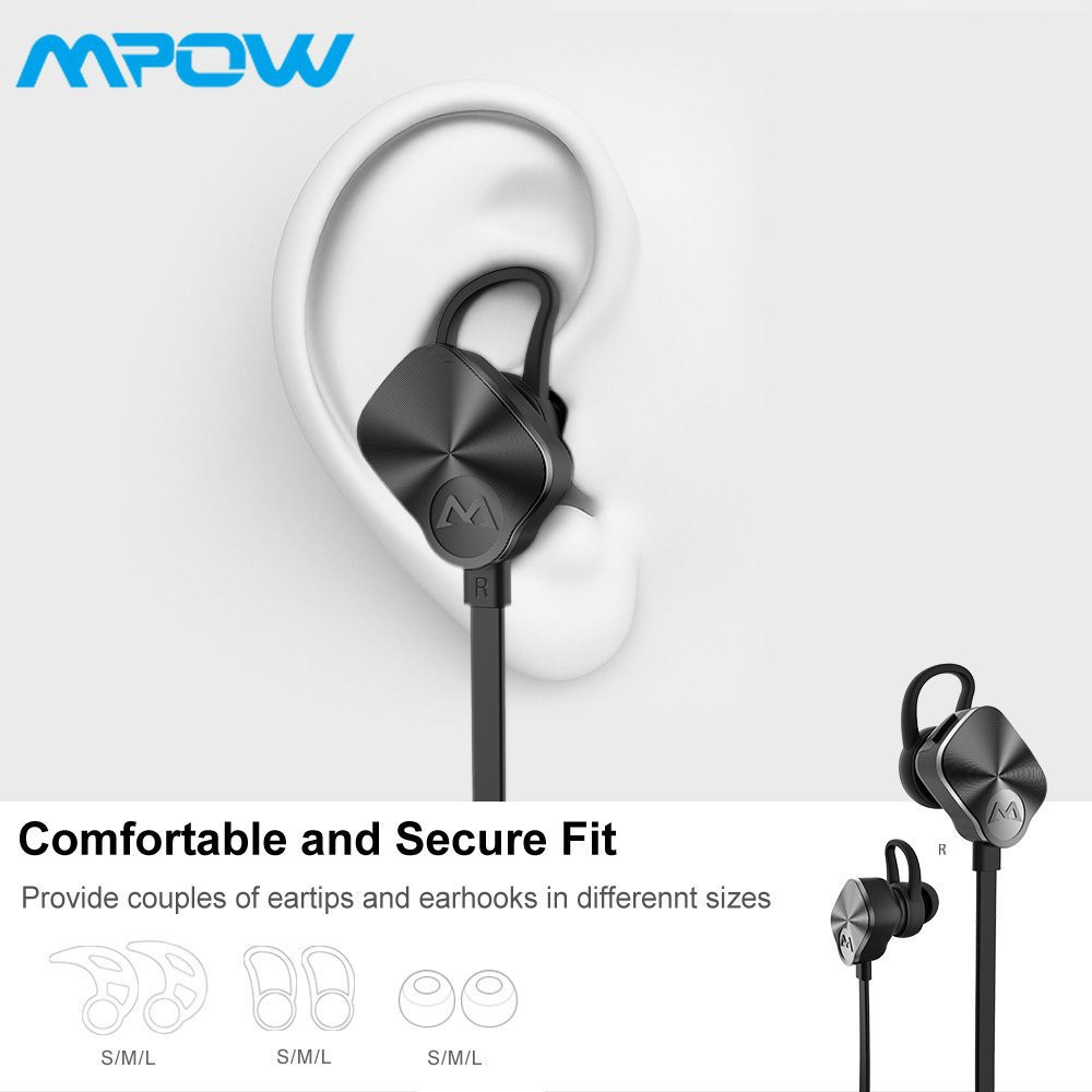 a6438a9ee9c Mpow Wolverine Wireless Bluetooth 4.1 Sport Headphones with Mic for Running  | Shopee Philippines