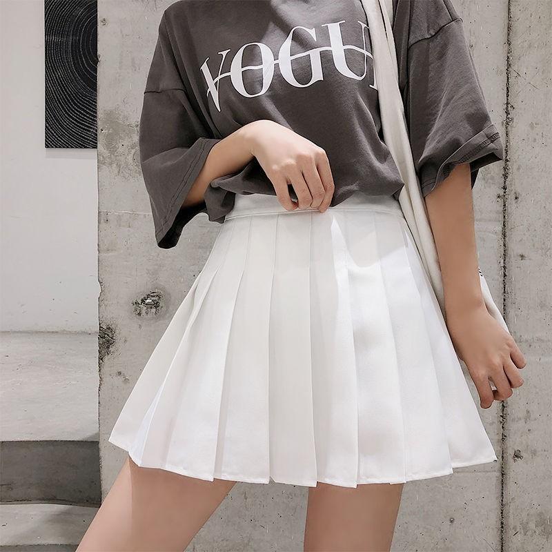 Amiley Childrens clothing Dress Kids Girls Princess Pleated Skirt College Wind Skirt High Waist Skirt