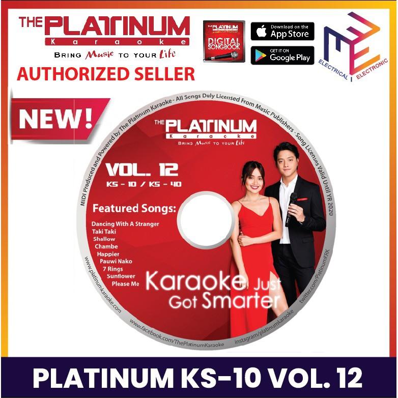 Platinum Karaoke KS10 KS-10/KS-40/JUNIOR 2/ KBOX 1 & 2