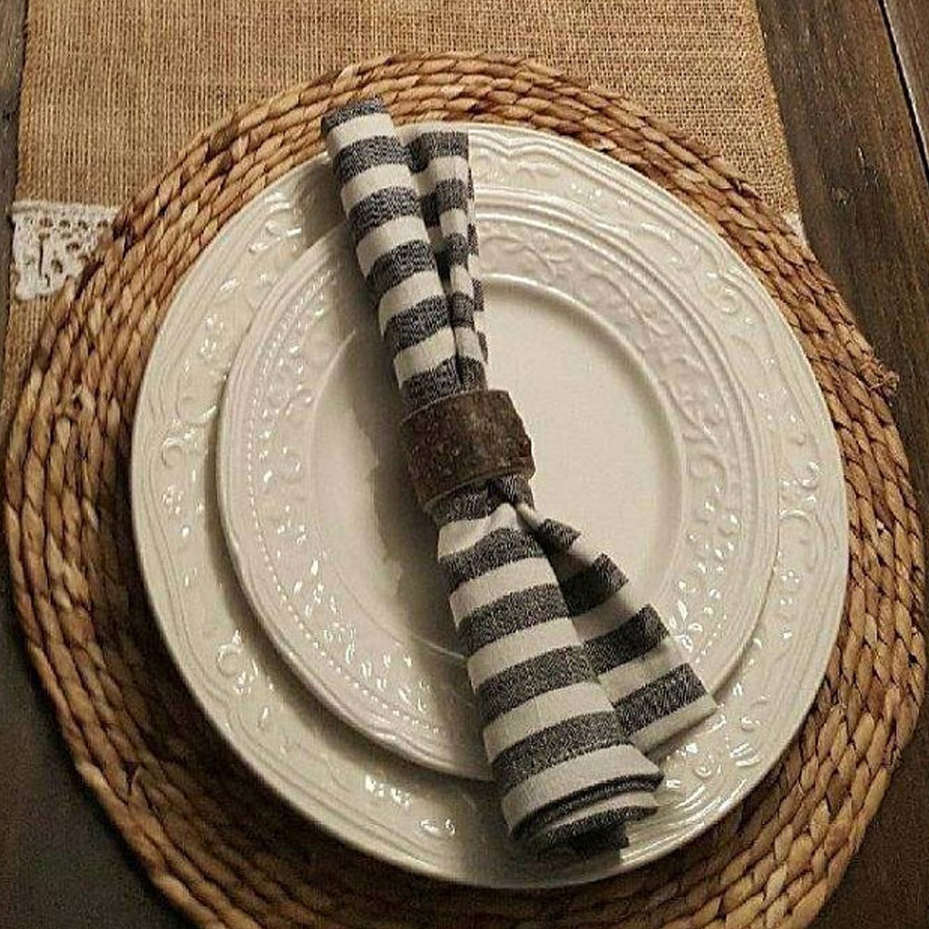 Wood Napkin Ring Fabrics Holder Rustic For Party Decor Shopee Philippines