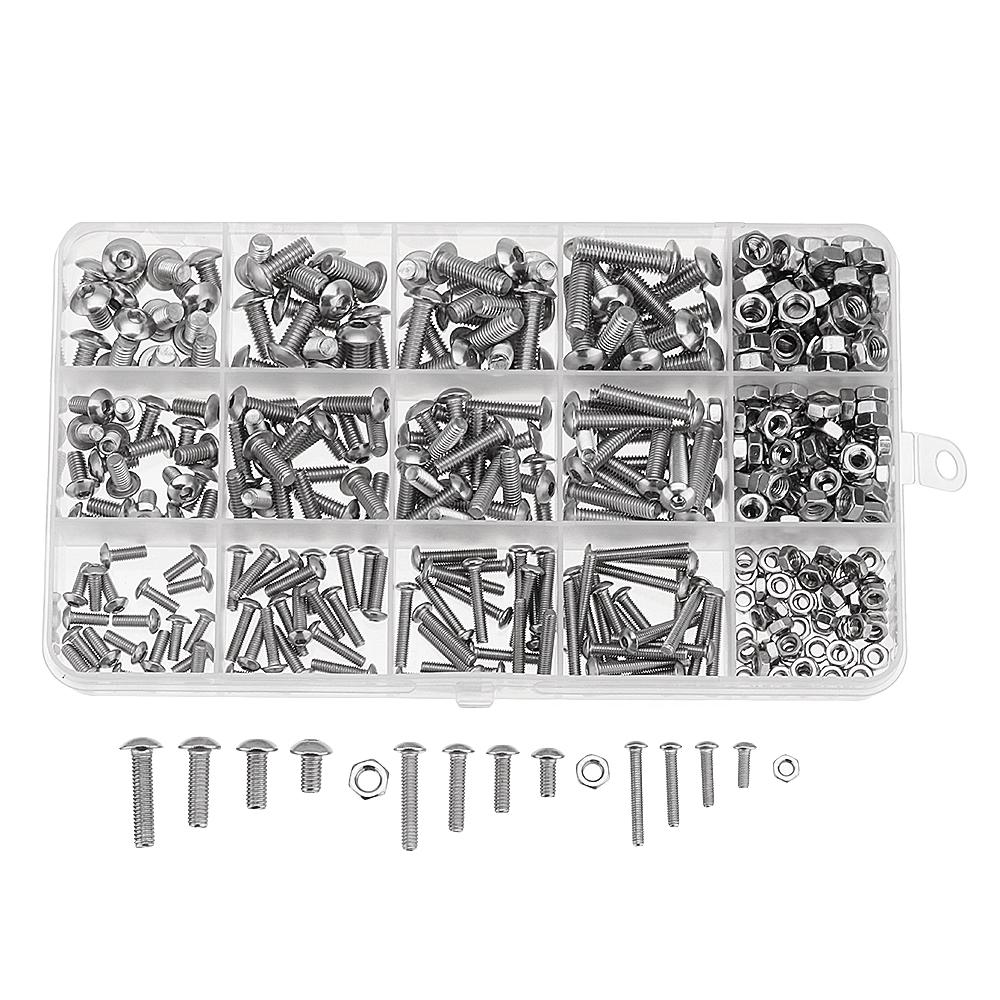 3mm Blakc Zinc Carbon Steel Phillips Pan Head Self Tapping Screws 500pcs M3