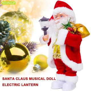 Christmas Dancing Santa.Focus Dancing Santa Claus Electric Santa Claus Christmas Doll Plastic Kids Gift Toy Creative Cute