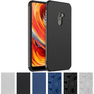 Bumper Case Xiaomi Mi Mix 2 Casing Covers Xiomi Mi Mix2 3D Relief Soft TPU Cover