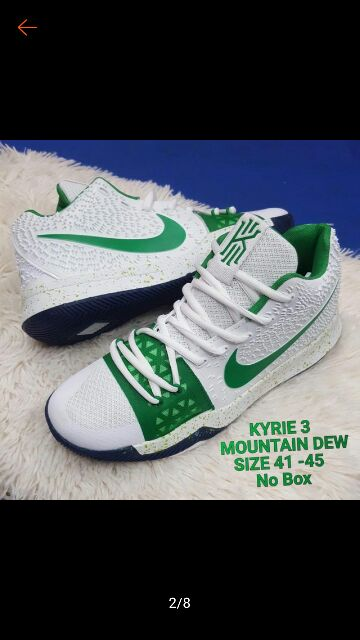 finest selection 7b430 b6bd3 New KYRIE 3 (Mountain Dew) Style Shoes For Men Adult ...