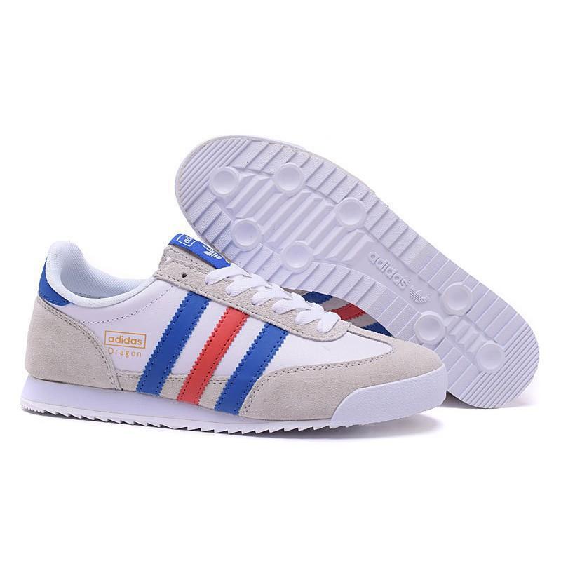 adidas dragon white blue red cheap online