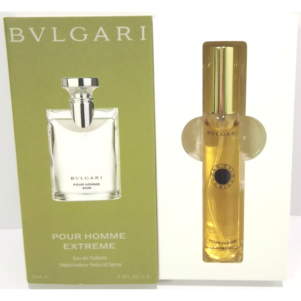 Original Bvlgari Man Extreme 100ml Shopee Philippines