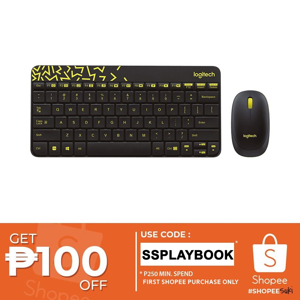 8e33aeba1f1 Logitech MK235 Wireless Keyboard and Mouse (Black) | Shopee Philippines