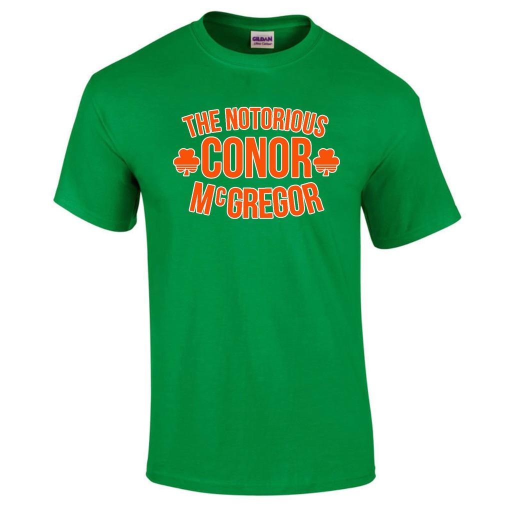d17c71b15 Conor Graffiti McGregor Notorious MMA Hunt Ireland Irish 200 Gym Workout T- Shirt | Shopee Philippines