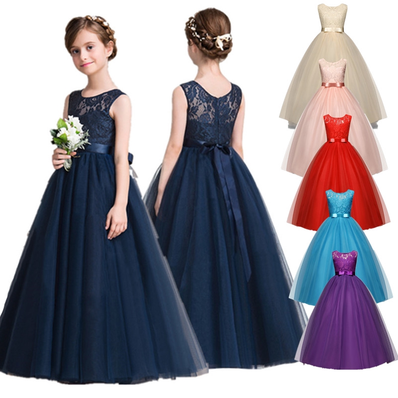 Nnjxd Lace Flower Girl Princess Wedding Dress Tutu Long Formal Gown Birthday Party Clothes Shopee Philippines,How Much Do Gypsy Wedding Dresses Cost