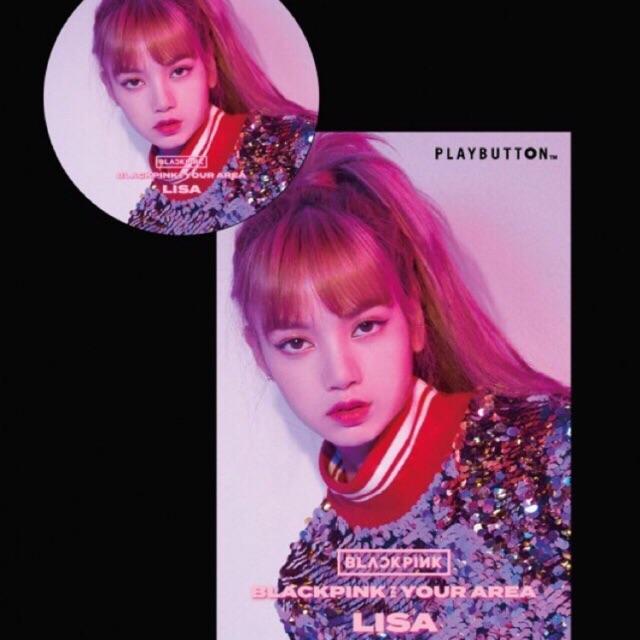 Blackpink Album Lisa And Jennie Playbutton Ver