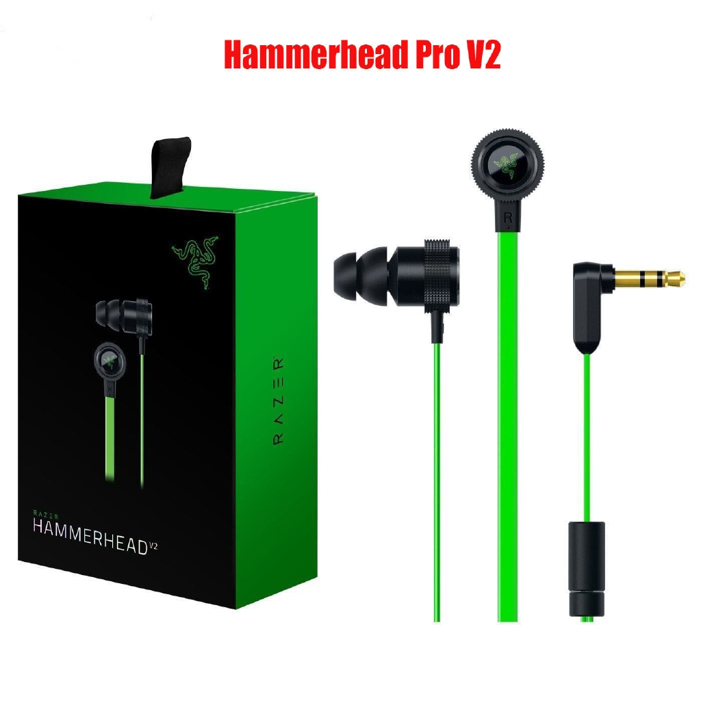 Razer Hammerhead Pro V2 Headphone With Box Game Headset
