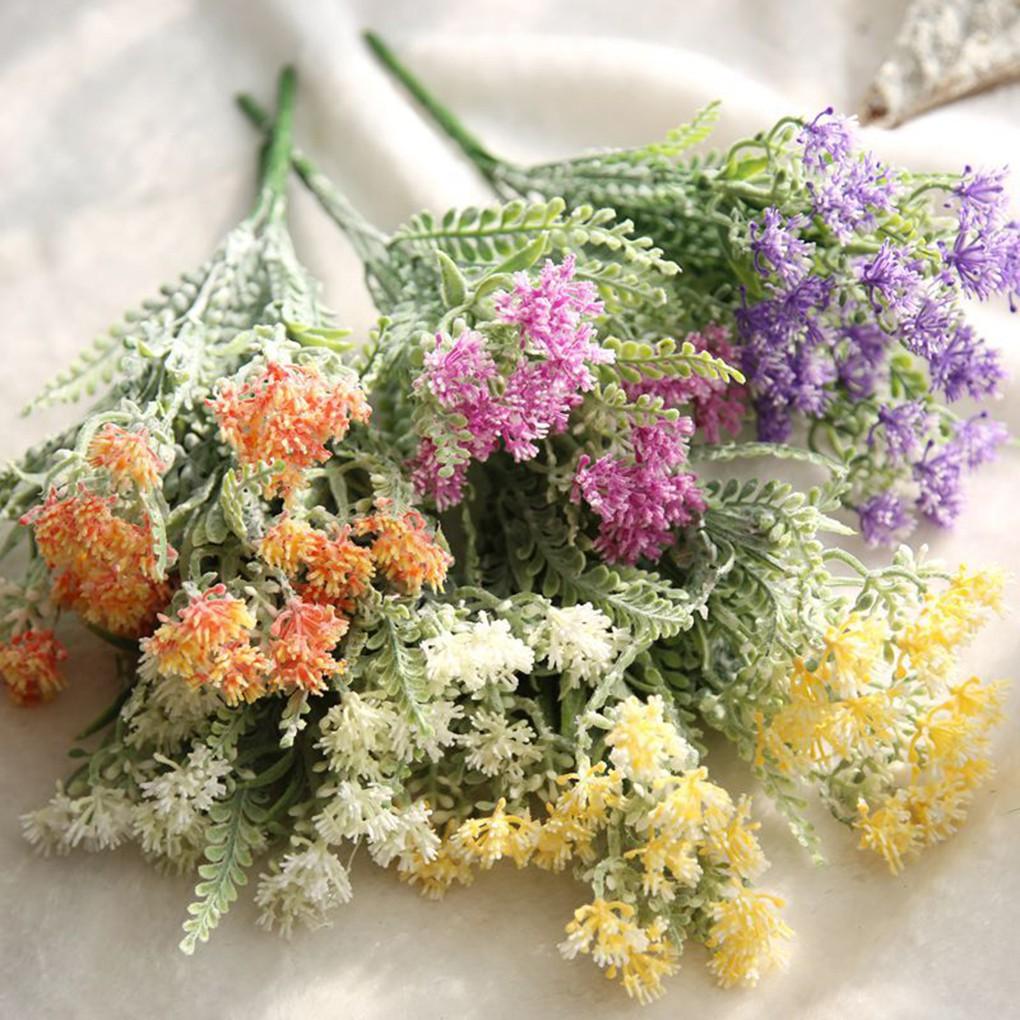 Aglaia Odorata Lour Artificial Flowers Bouquet For Home Wedding Party  Decoration