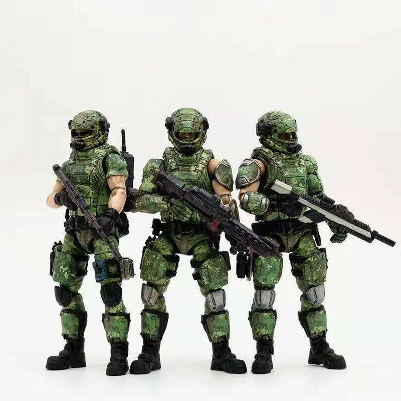 JOYTOY CrossFire 1//18 CF Wolf Mini Male Soldier  Movable Figures Model Toys