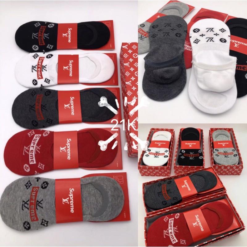 New Supreme ➕LV Invisible Socks, Socks, Socks, Deodorant, Sweat