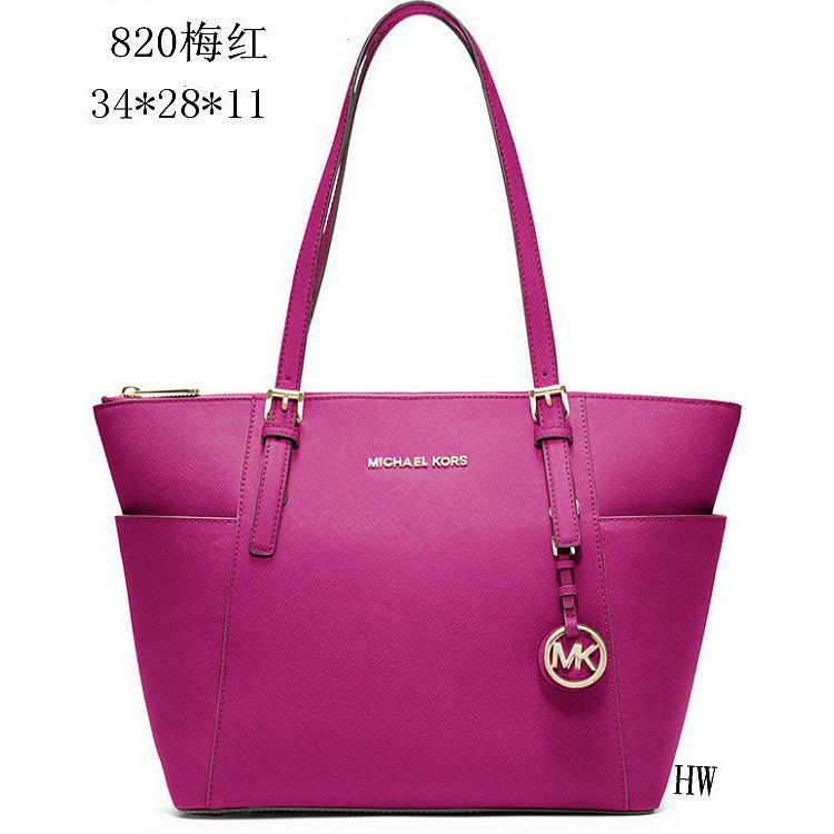 cf245a7aba88 Fashion Michael Kors handbag shoulder bag PU leather killer bag M820 ...