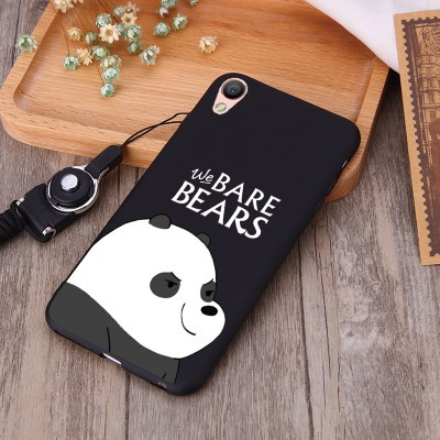 free shipping 0208a ec063 We Bare Bears OPPO F11 pro A7 A3S F9 F7 Youth F5 F3 A5S A83 A71 A37 Soft