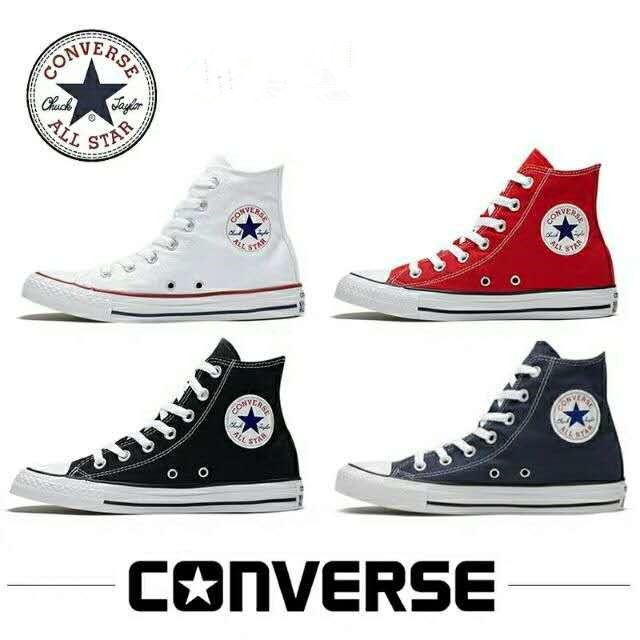 tráfico rizo Certificado  CAT.S CONVERSE Classic ChuckTaylor All Star High Cut Shoes For Men Inspired  | Shopee Philippines