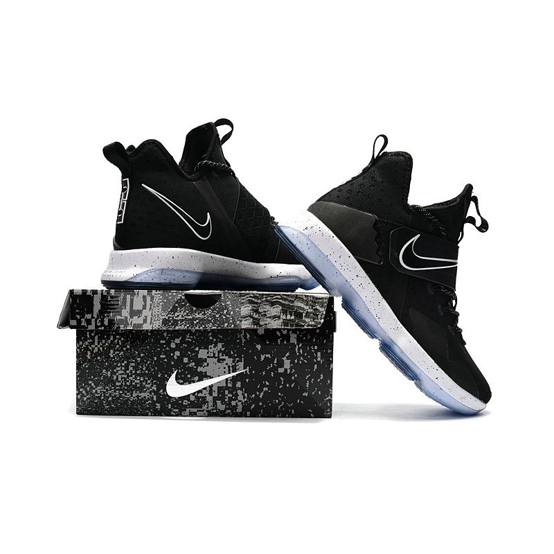 best authentic b32df 5386b H581GY James Lebron 14 Black ice Can Combat Series 921084-002   Shopee  Philippines