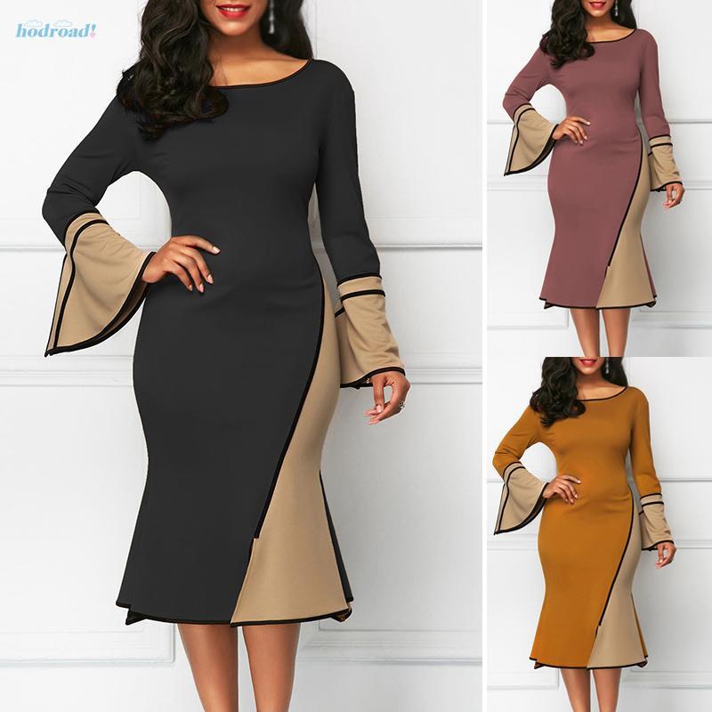 JASAMBAC Womens Midi Skirt Boho Vintage Print Elastic High Waist A Line Beach Skirt
