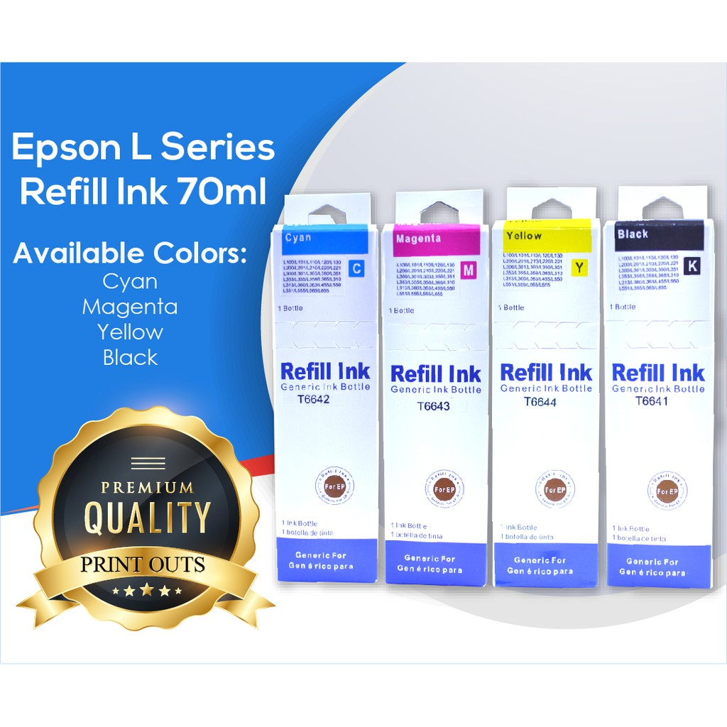 Refill Ink for Epson L Series