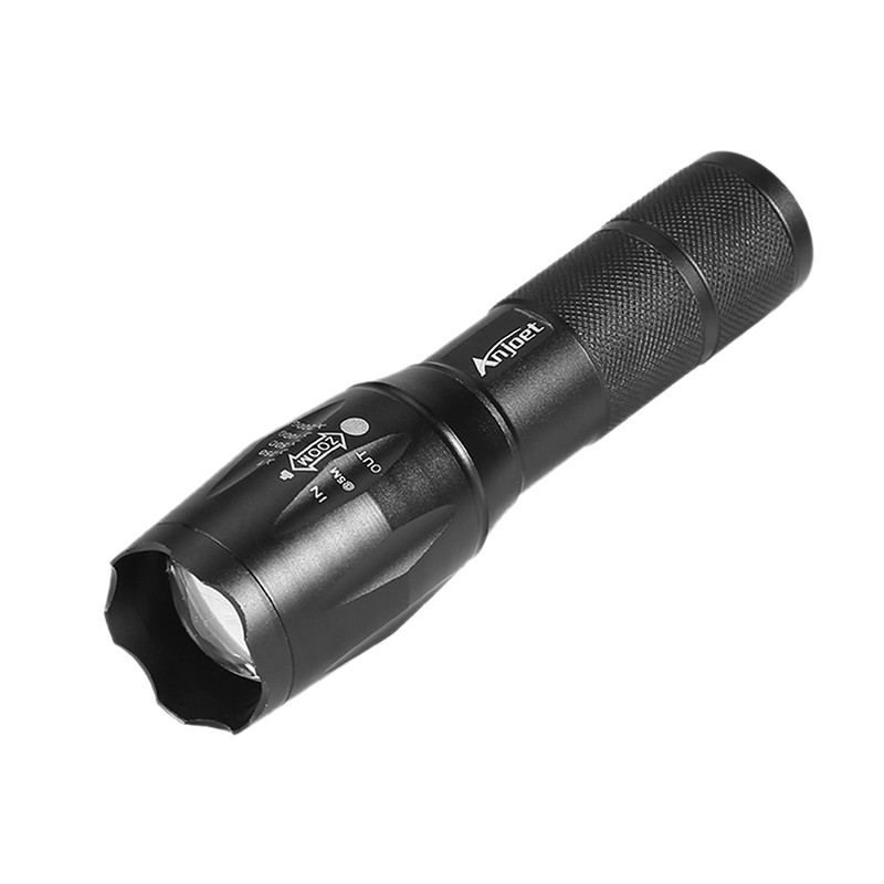 Tactical 50000LM T6 LED Army Flashlight Zoomable Torch+18650+Charger+Case New