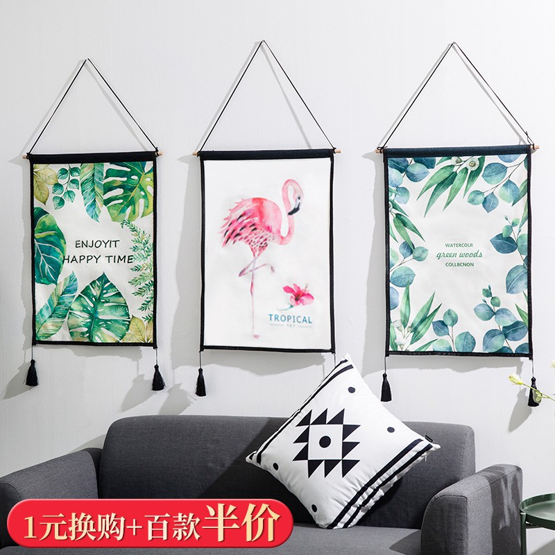 Background Cloth Hanging Cloth Wall Hanging Wall Wall Decoration Pendant Bedroom Room Dining Room Ins Wind Wall Decoration Shopee Philippines