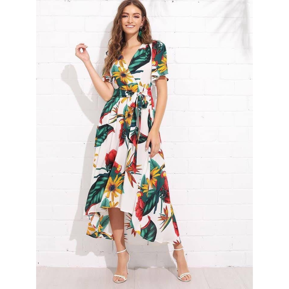sports shoes innovative design pre order Floral maxi dress | Shopee Philippines