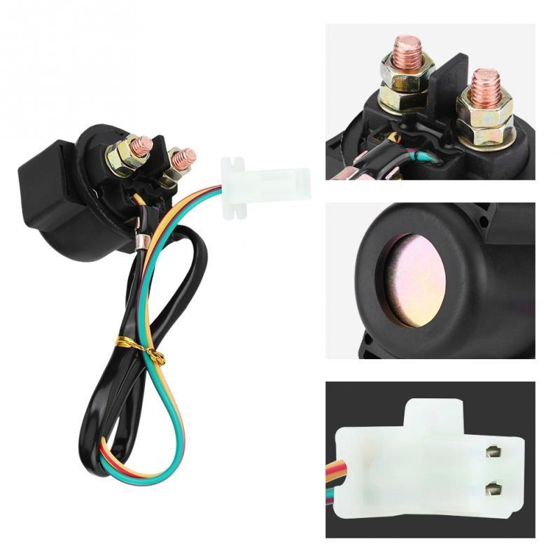 Motorcycle Starter Solenoid Relay Switch for YAMAHA | Shopee