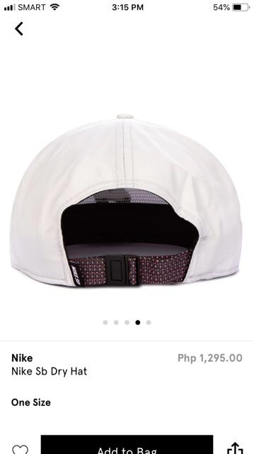 ff4ec68a1 Nike SB Dry Hat Unisex | Shopee Philippines