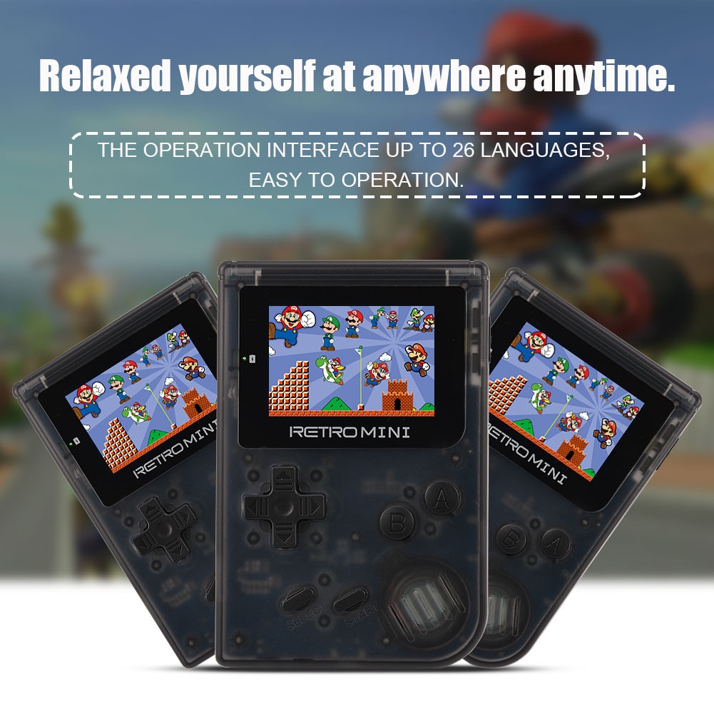 Colorful Built in 40+Games Portable Retro Games Console