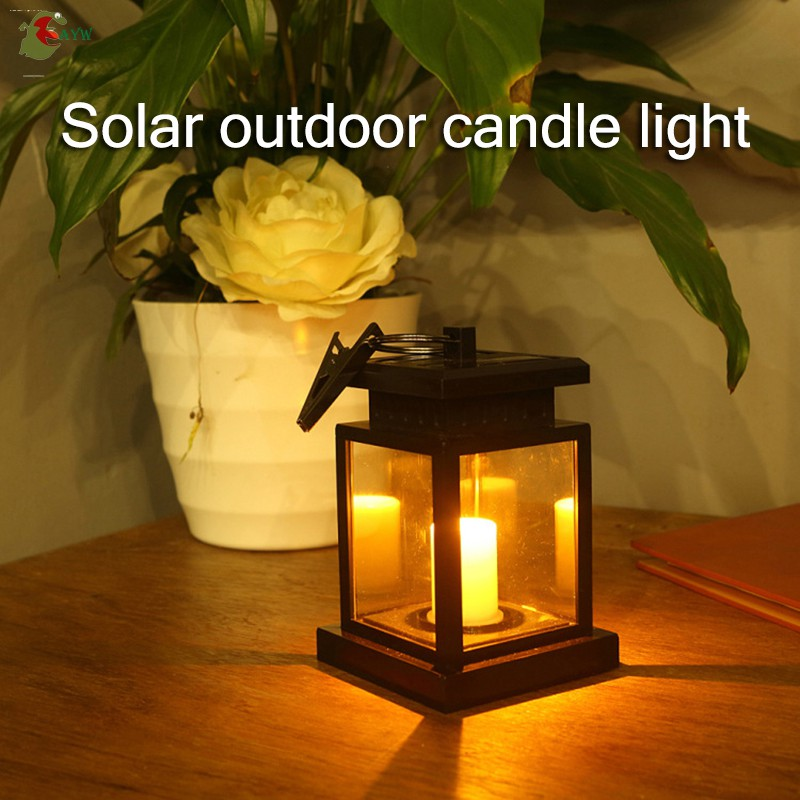 Led Candle Lantern Hanging Table Light