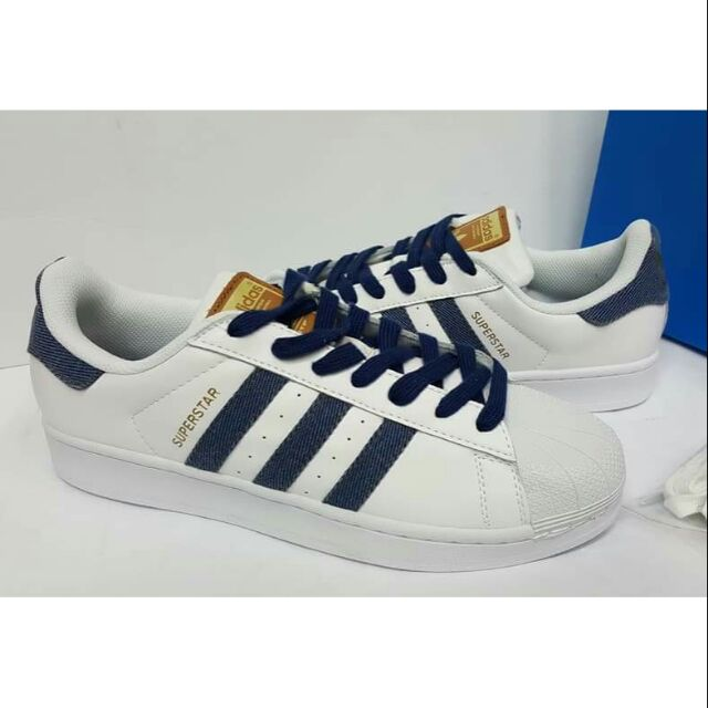 lucha raya Exitoso  Adidas Superstar Denim (OEM/Replica) | Shopee Philippines
