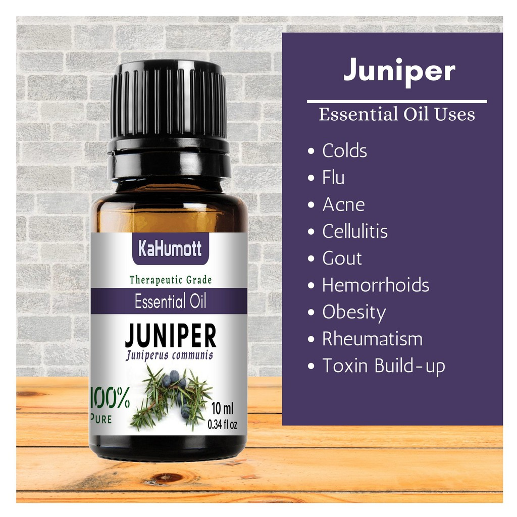 Juniper Berry 100 Pure Essential Oil 10 Ml Shopee Philippines