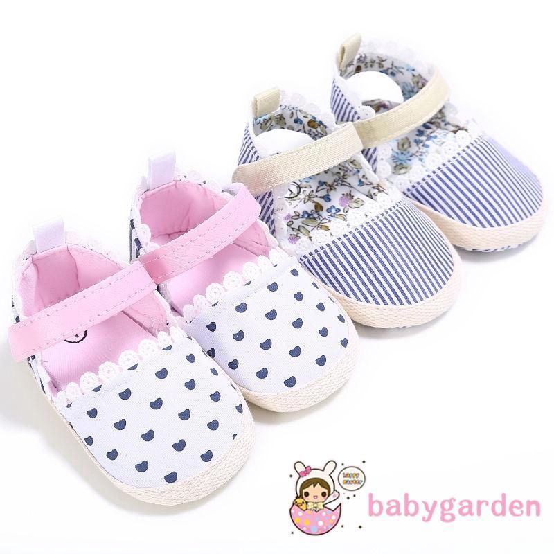 aa4370d6f4 GGR-Cute Newborn-18M Girls Kids Heart Baby Shoes Soft Sole
