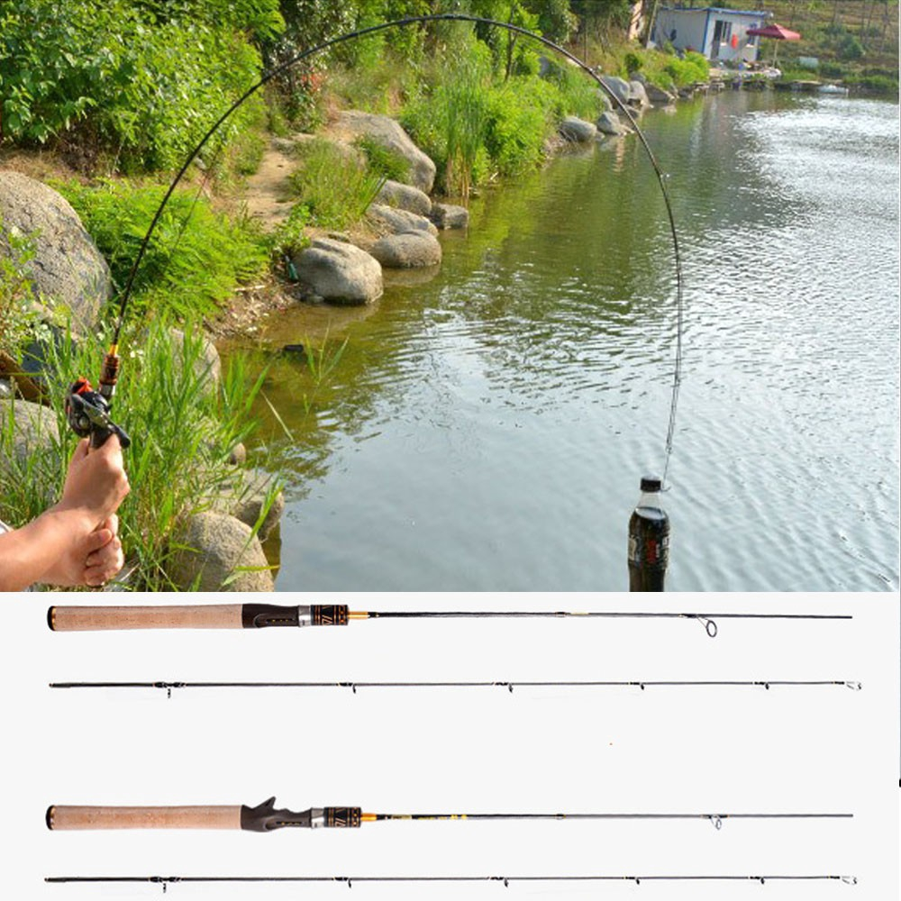 1 8m UL Carbon Casting/spinning Fishing Rod for Fishing