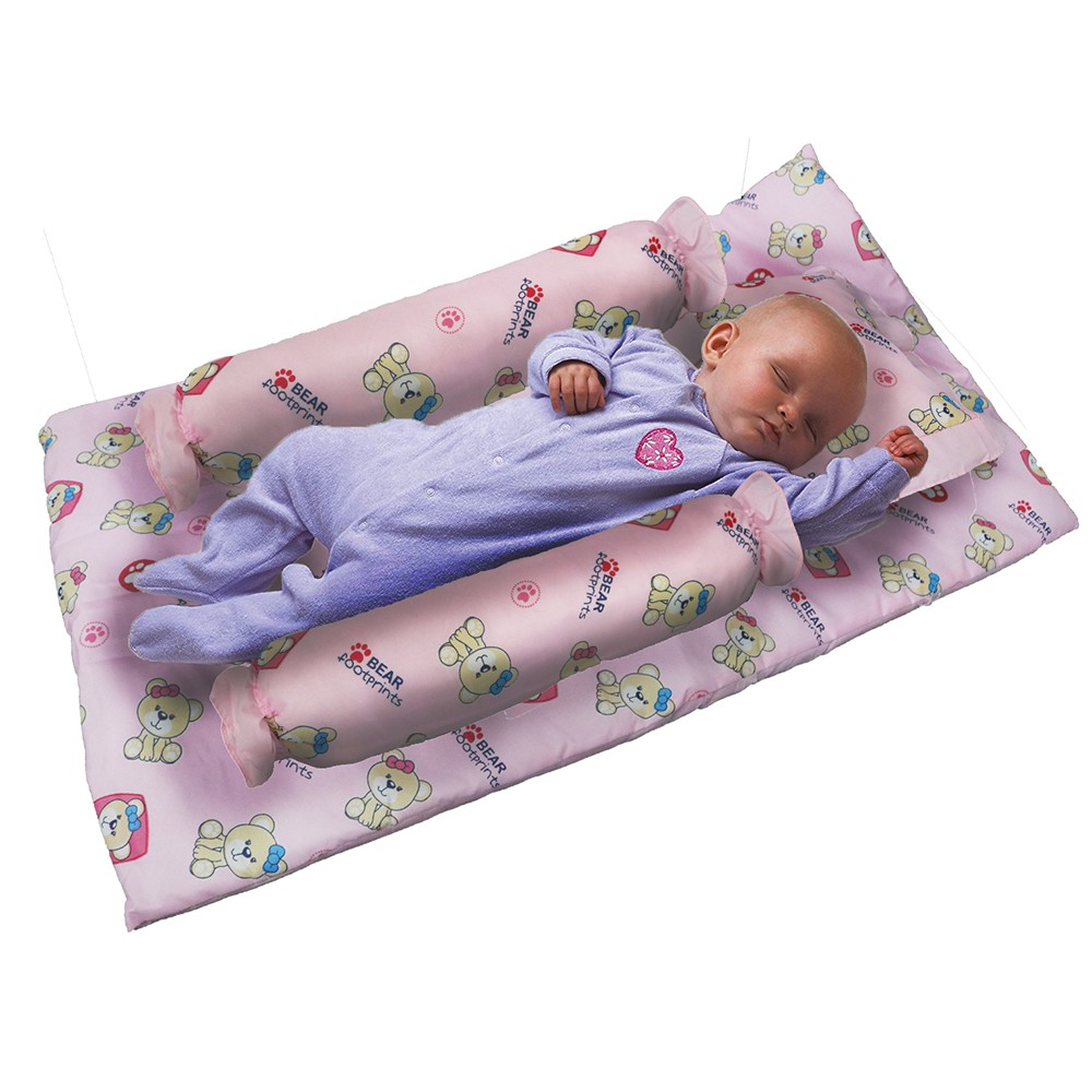 4in1 Baby Crib Bedding Pillow Set Teddy Bear Design Shopee