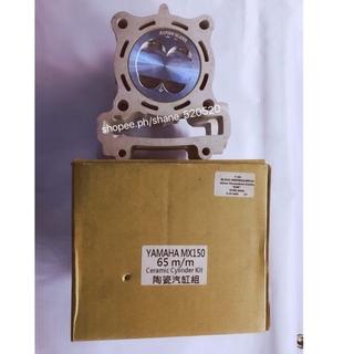 cylinder block yamaha mx150 65mm chrome bore | Shopee
