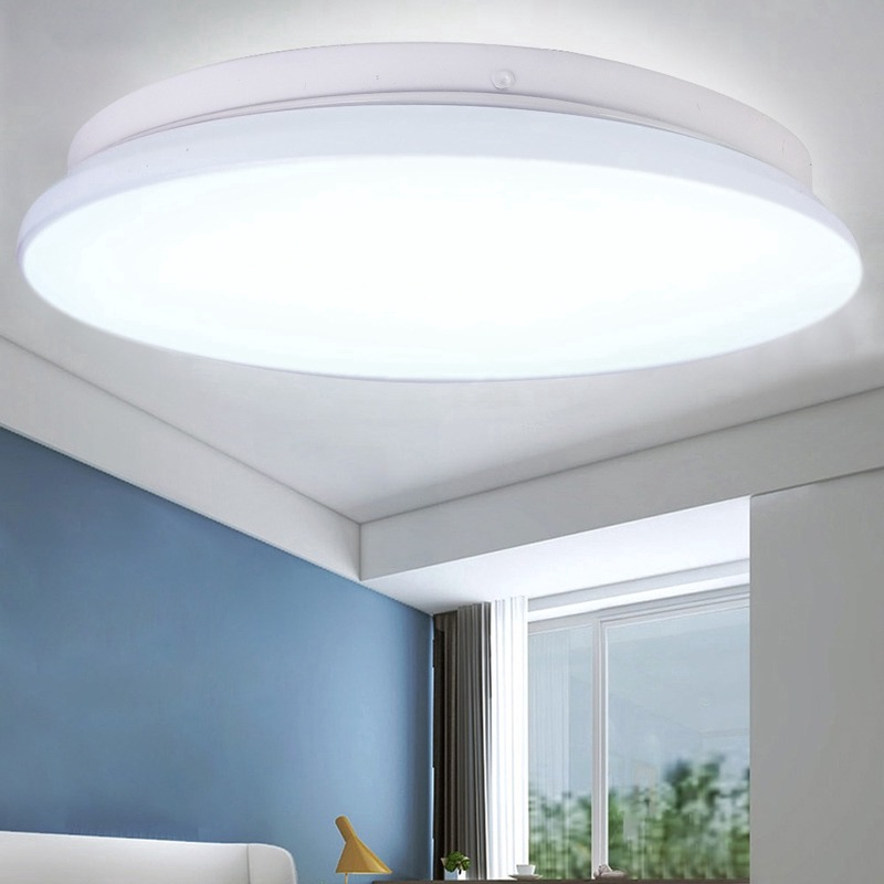Ceiling Light Round Panels Ceiling Lamp Flat Ceiling Lamps Fixture For Balcony Living Room 12w 18w 24w 1pcs Shopee Philippines