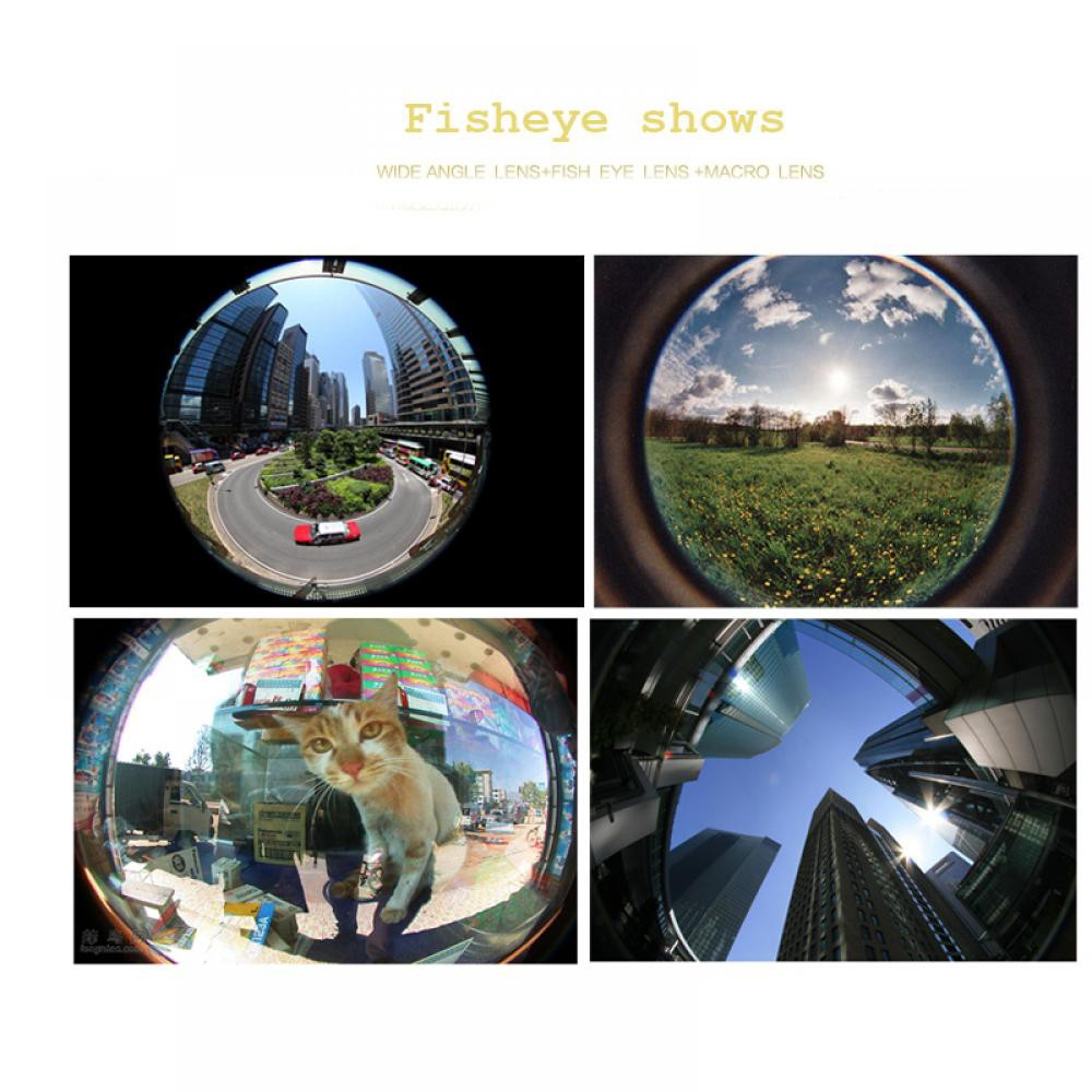 timeless design ed414 f870e Wide Angle Fisheye 3 In 1 for IPhone 6S IPhone 7 Samsung