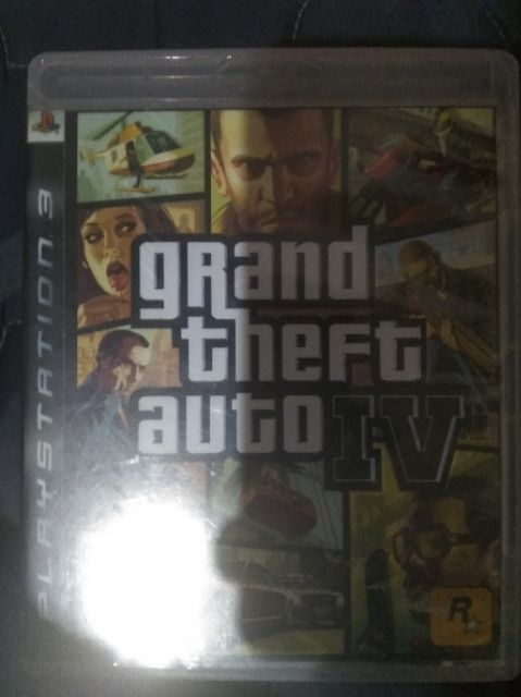 Grand Theft Auto 4 (GTA 4) Ps3