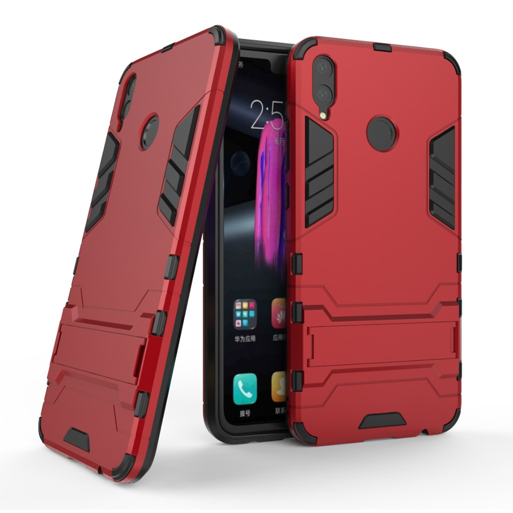 Huawei Honor 8X Case Hard Cover Shockproof Armor with Stand | Shopee Philippines