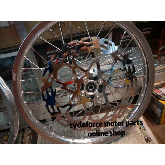 Raider 150 Fi Set Up: Disc Raider150 Front &rear(hindi Kasama Rim And Hub