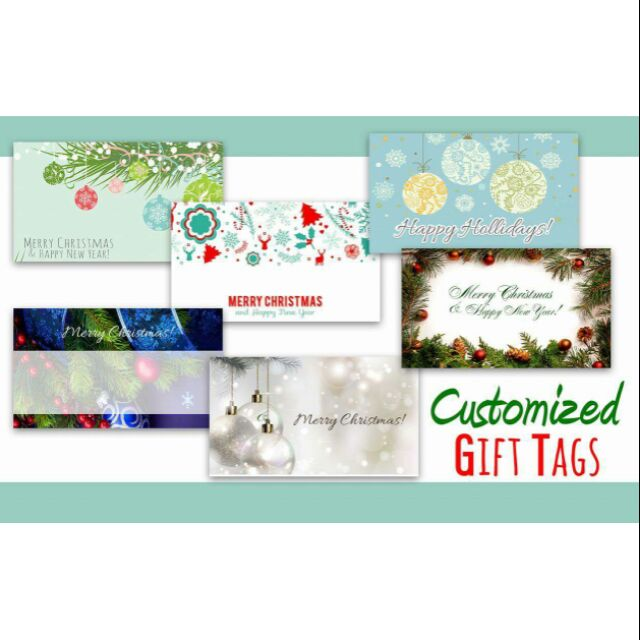Personalized Gift Tags Sho Philippines