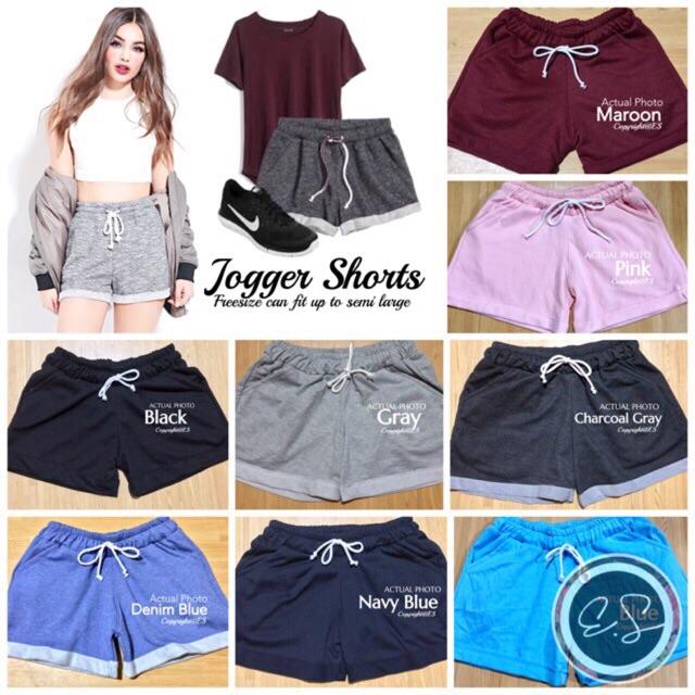jogger shorts female