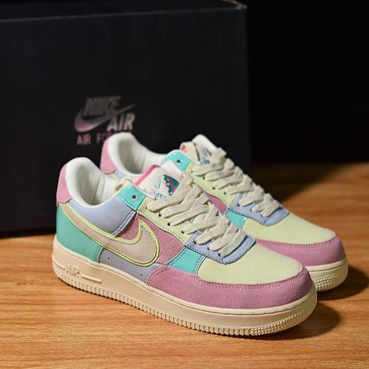 100% original Nike Air Force 1 Low Easter Egg AF1 Sneaker