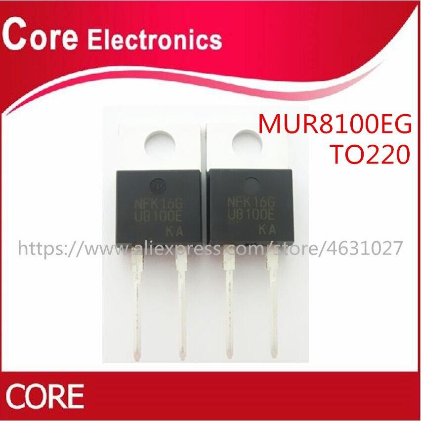 10PCS MUR8100E U8100E TO-220