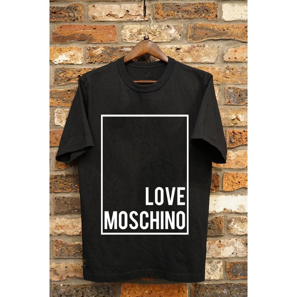 New Gildan Moschino Milano Moschino Black And White Men/'s T-Shirt All Sz