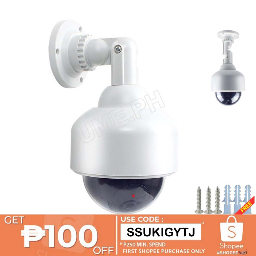 Fake Dummy CCTV Camera Waterproof PTZ Speed Dome 6696 COD